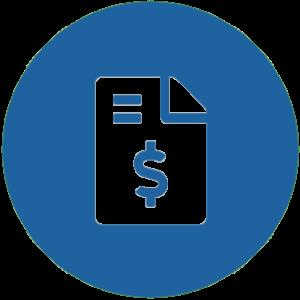 Accounts Receivable / Billing Icon
