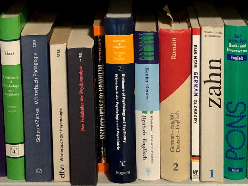 german to english translation for academic manuals and online articles