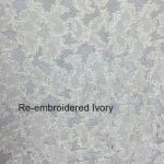 Re-embroidered Ivory