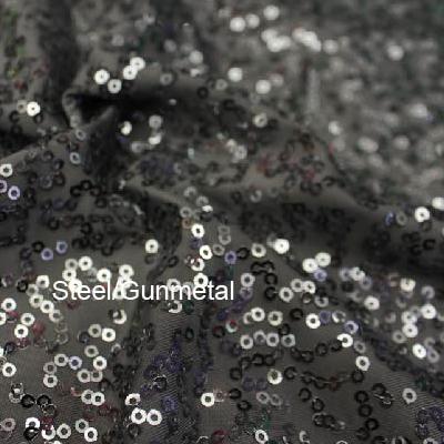 Steel/Gunmetal Zsa-Zsa and Charcoal Tricot