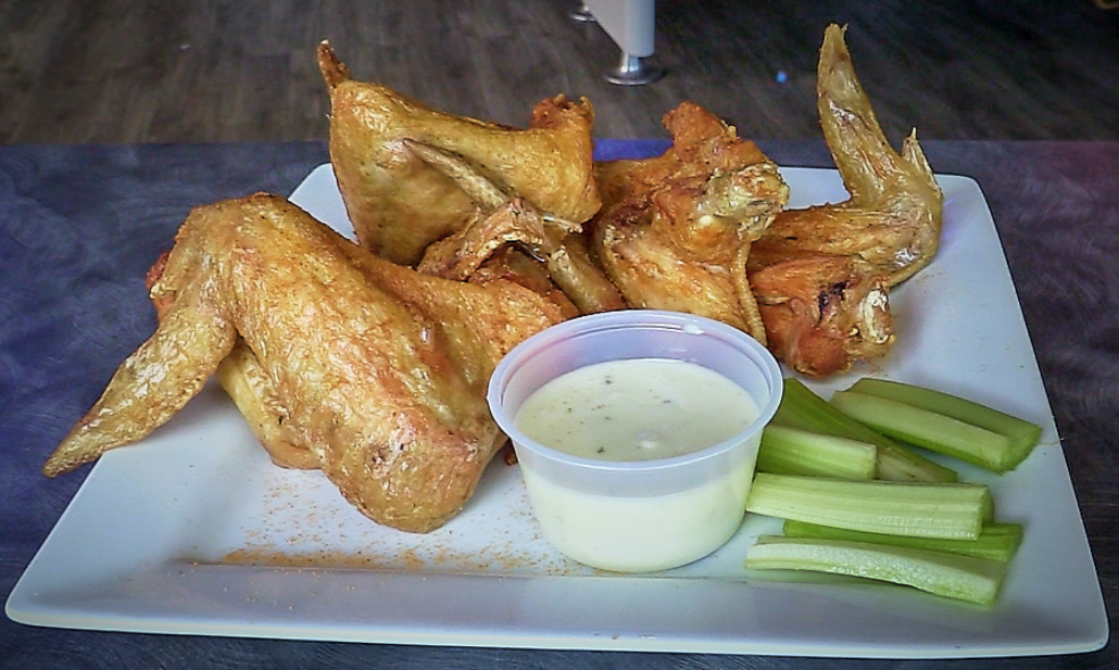 Full Chicken Wings appetizer at Prior's Tap and Tavern