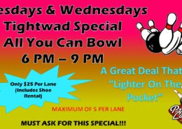 Tightwad Tuesdays and Wednesdays Special