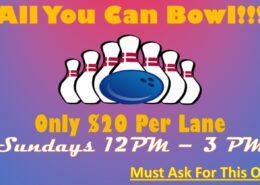 All You Can Bowl Special
