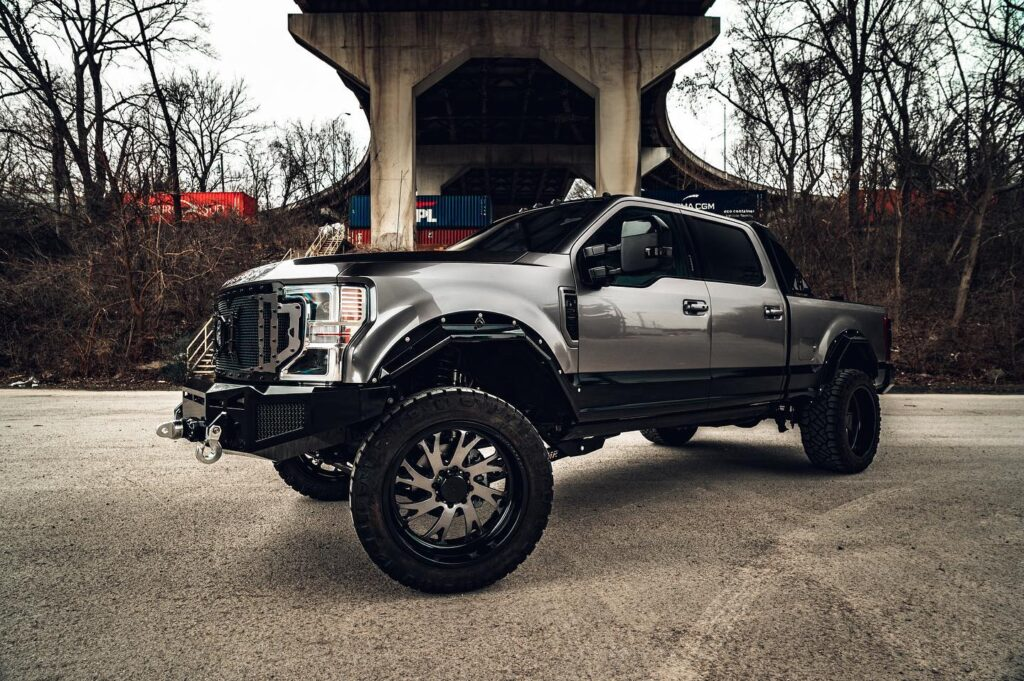 JTX Forged Hollow Point Wheels F250