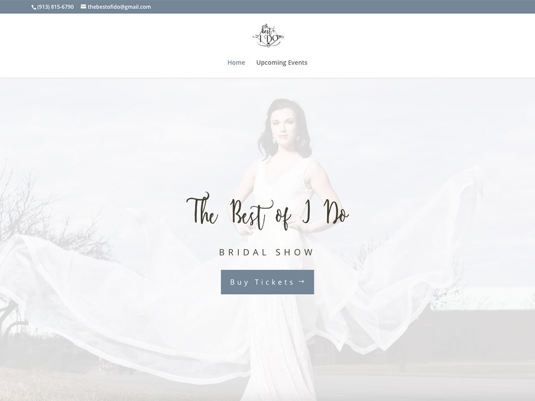 The Best of I Do bridal show website