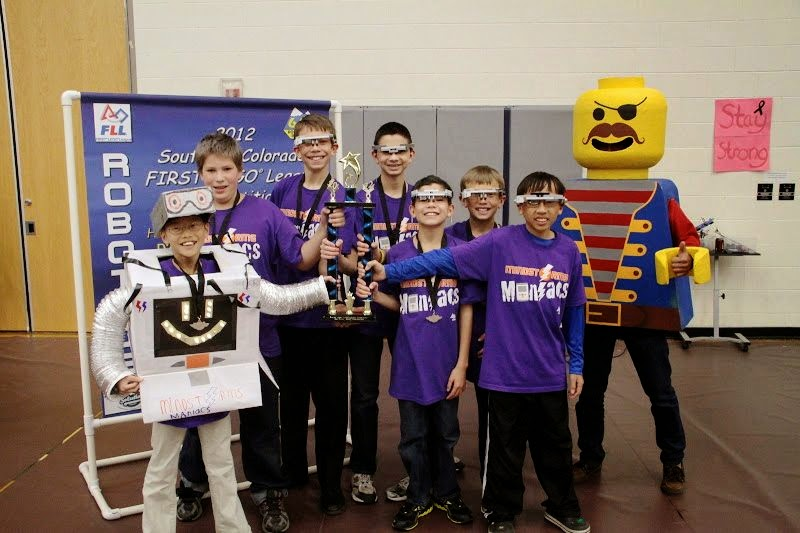 FLL Mindstorms Maniacs Colorado FIRST State Competition – 2nd Place Champions