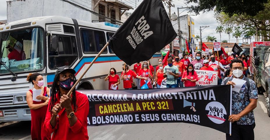 APUR PARTICIPA DE ATOS PELO FORA BOLSONARO EM CIDADES DO RECÔNCAVO