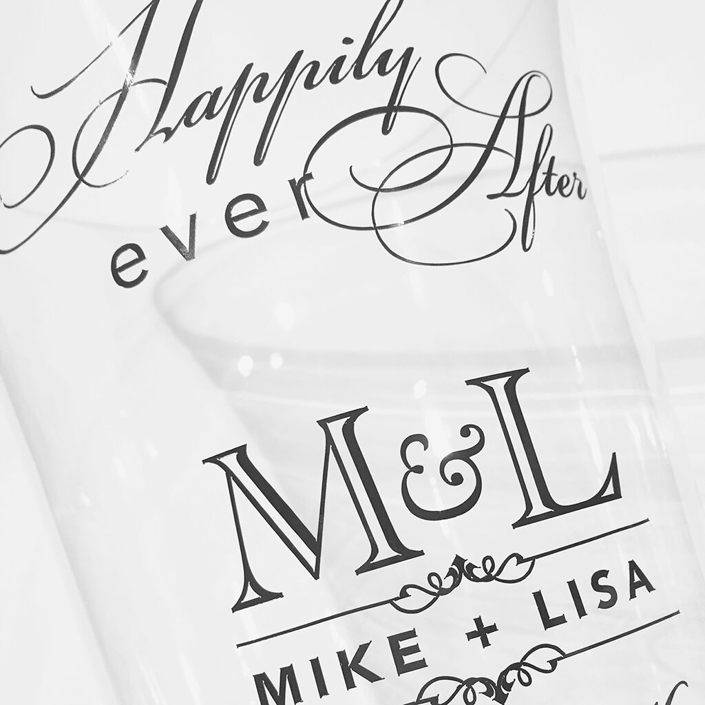 happily ever after wedding vase