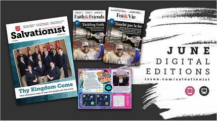 Digital editions of Salvationist Magazine