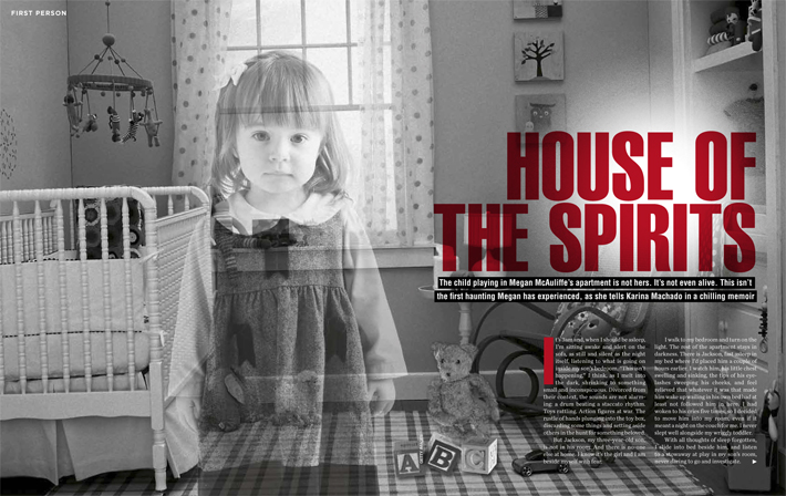 Extract from Where Spirits Dwell by Karina Machado in the September 2011 issue of Marie Claire magazine -1