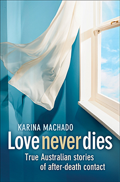 love never dies by karina machado book cover