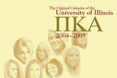 U of I / University of Illinois PIKE 2004-2005-Calendar