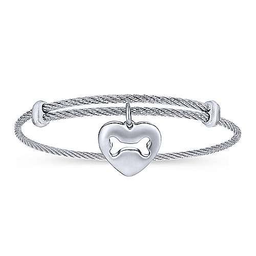Gabriel - Adjustable-Twisted- Dogie Bracelet