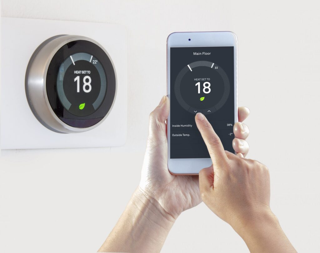 Smart Thermostat Fort Worth T