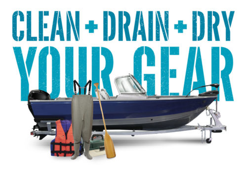 Clean Drain Dry Your Gear