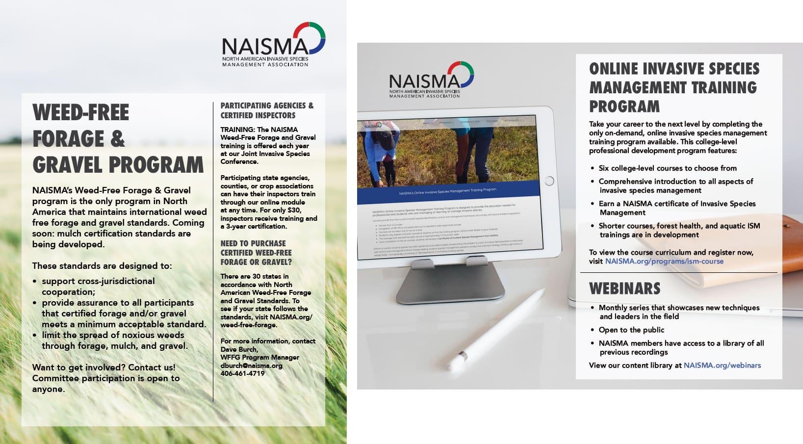 Weed Free Forage Brochure - NAISMA