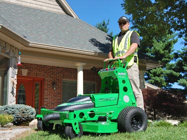 Mean Green SK-48 stand-on electric mower