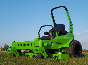 Commercial electric mower qualified for GMP incentive for sale from Eco-Equipment Supply in Vermont