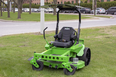 Commercial electric mower rebates available from Burlington Electric Department