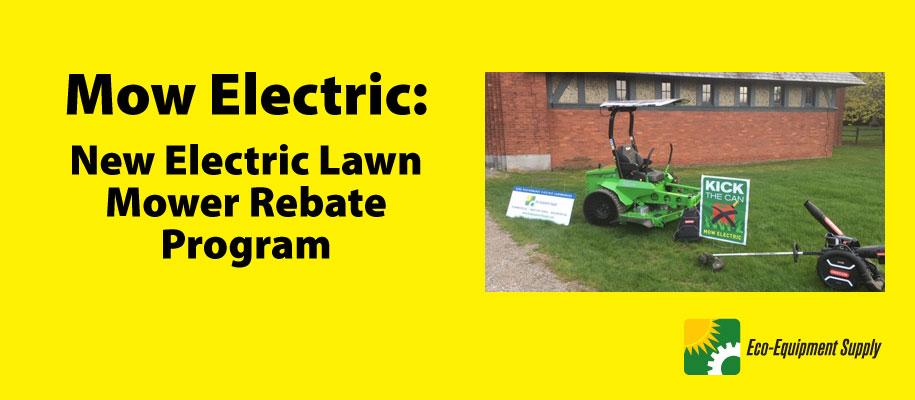 Mow Electric rebate program