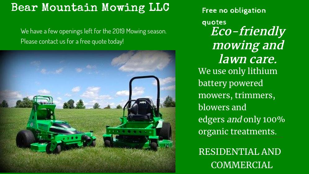 Bear Mountain Mowing