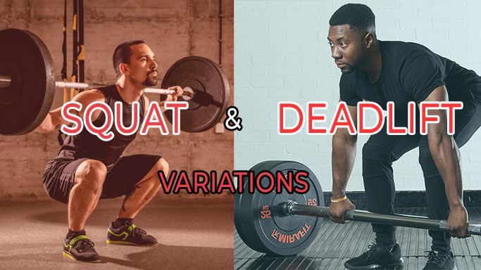 Differences in Squat and Deadlift Positions