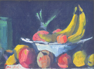 Still Life with Bananas by Erin Lee Gafill
