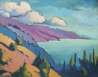 South from Nepenthe, Easter Sunday - Fine Art Print