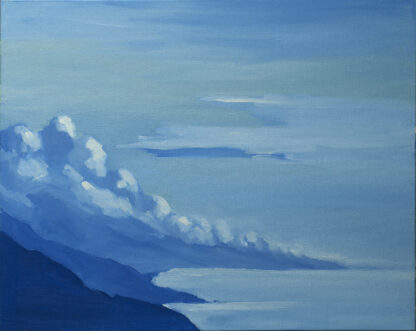 Clouds, Morning, Big Sur by Erin Lee Gafill