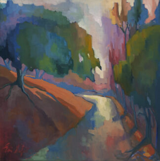 Light on the Path, Trees by Erin Lee Gafill