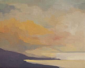Clouds, Coast, Dusk by Erin Lee Gafill