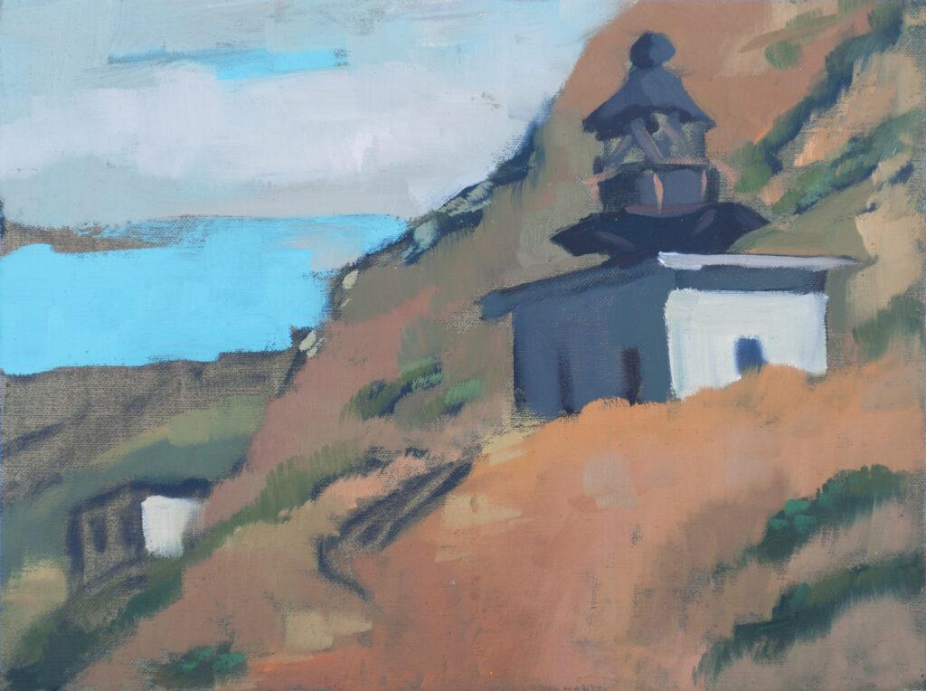 Lighthouse at Punta Gorda, The Lost Coast