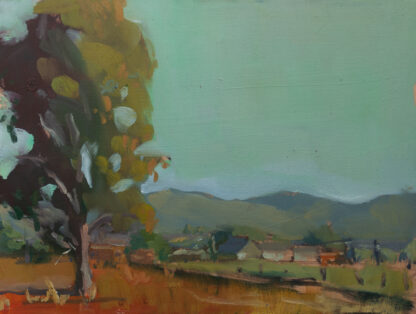 Eucalyptus by the Old Farm, San Miguel California