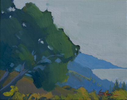 Oak Tree Dawn, Big Sur by Erin Lee Gafill