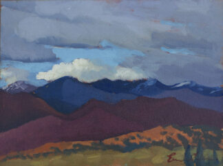 Sangre de Cristo Mountains, from The Opera House by Erin Lee Gafill