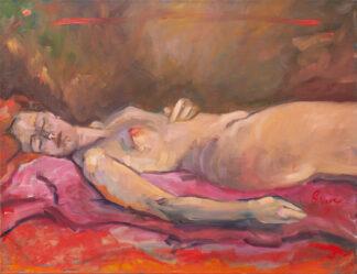 Sleeping Maiden by Erin Lee Gafill