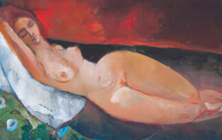 Reclining Woman by Erin Lee Gafill