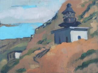 North-Coast-Lighthouse-at-Punta-Gorda-Lost-Coast by Erin Lee Gafill