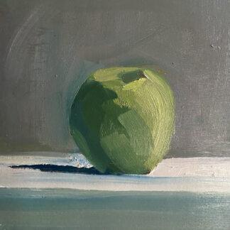 "Green Apple - 6"" x 6"" - Erin Lee Gafill"