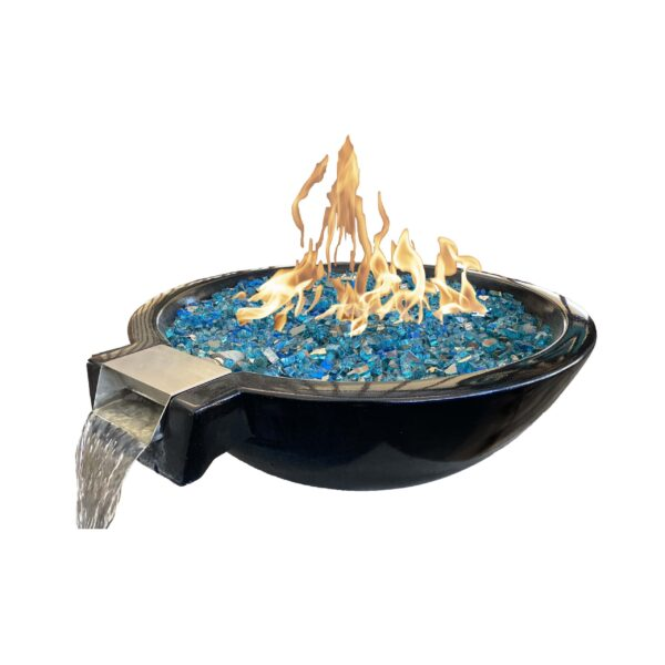 Marseilles Fire and Water Bowl