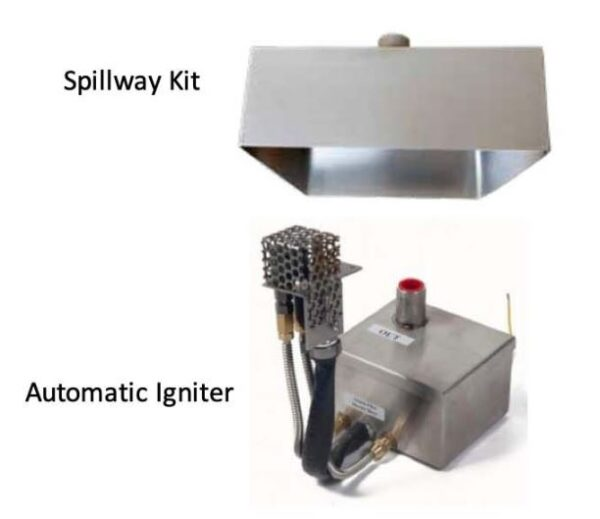 Spillway and Igniter