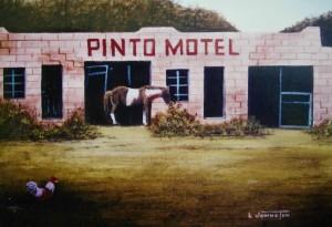 Nostalgia Painting Larry Johnston