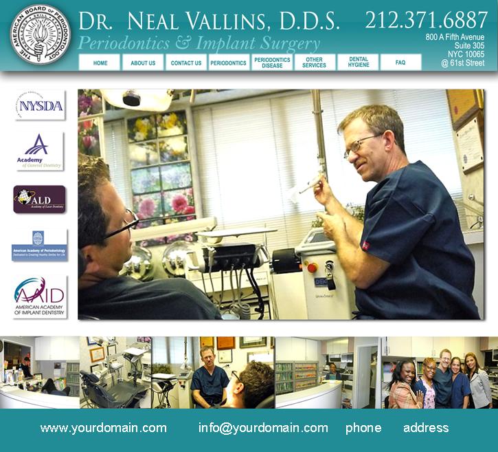 Dr Vallins Website