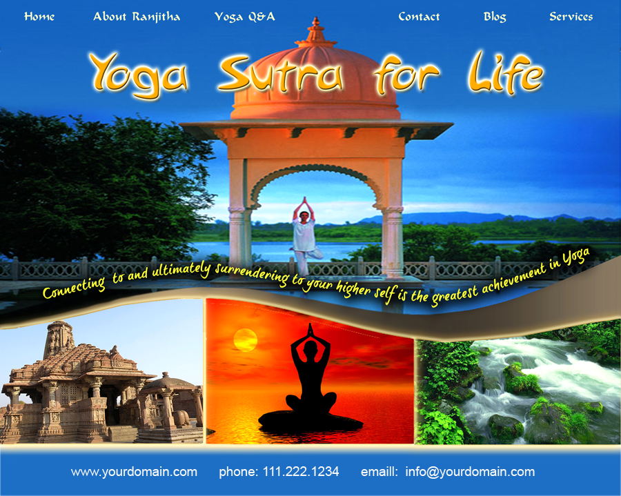 Yoga Sutra for Life Website