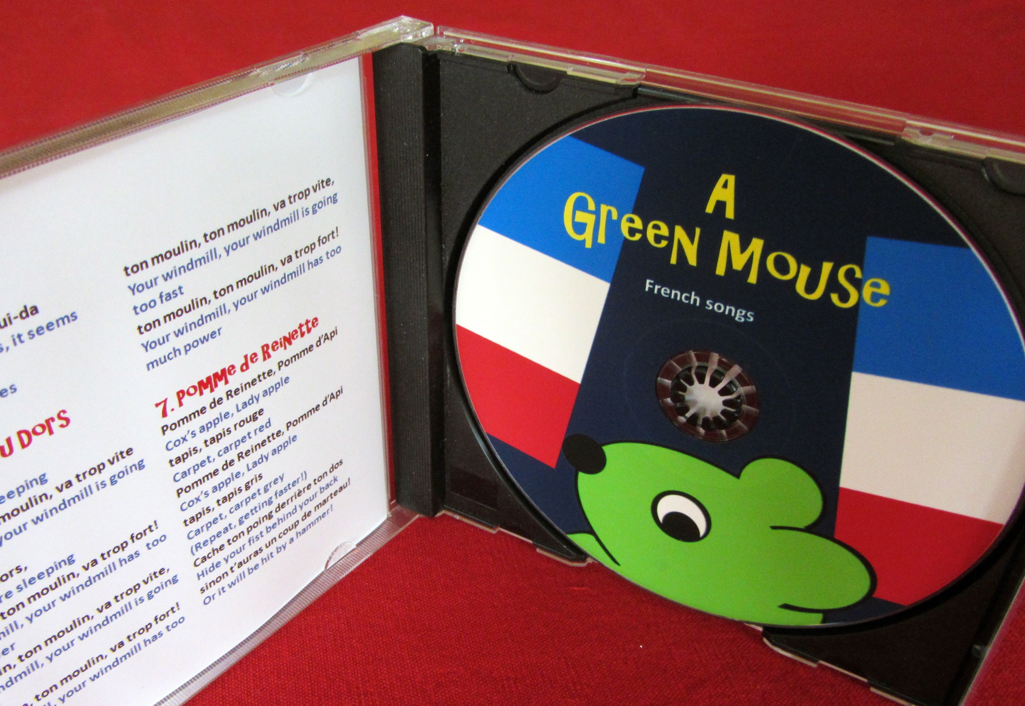 image for A Green Mouse French Songs for Kids