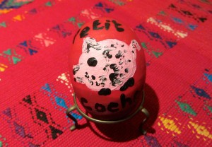 image of painted Easter egg