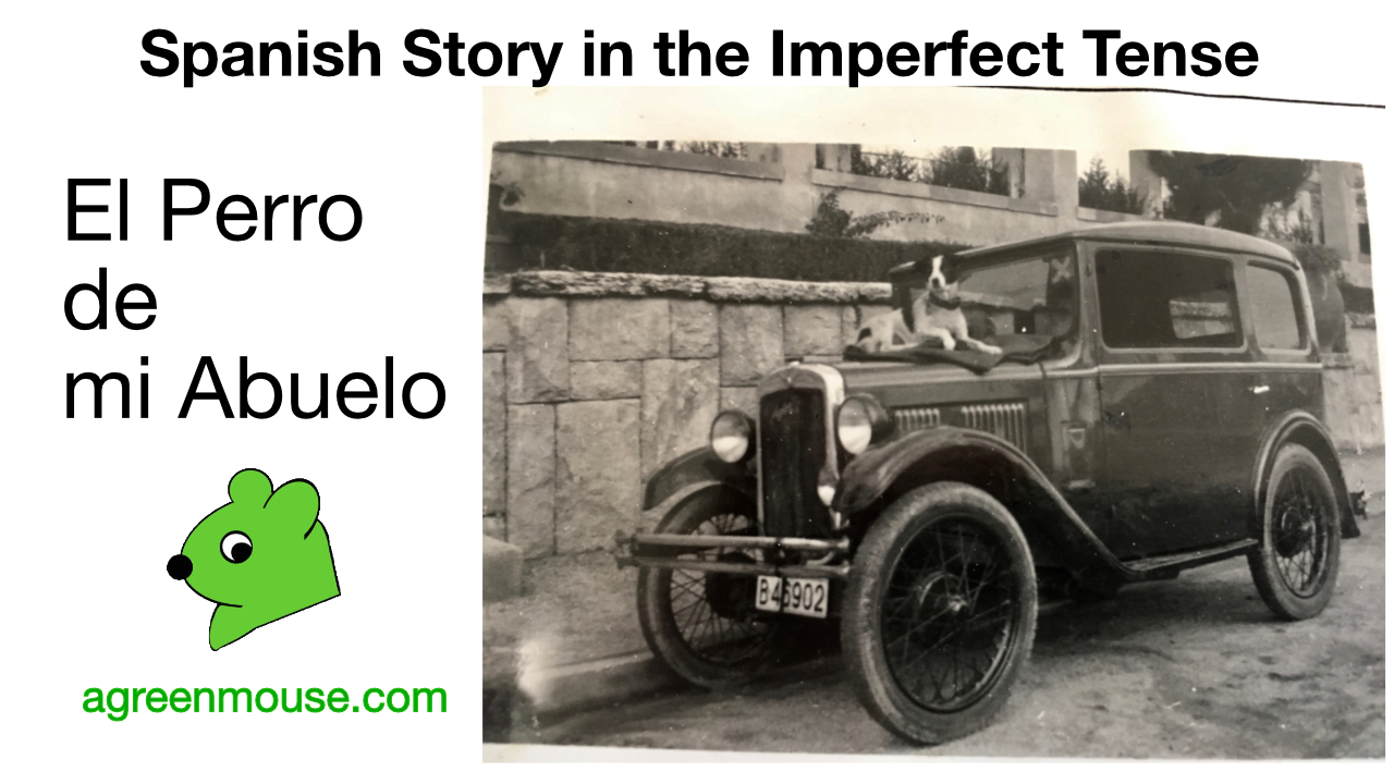 Image for Spanish Imperfect Tense Story