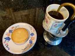 image for palet breton biscuit + espresso coffee