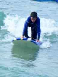 to surf in Spanish - Hacer surf