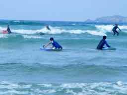 Je fais du surf